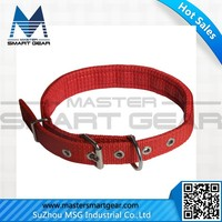 Agjustable Puppy Pet Dog Nylon Collar Buckle Studded Cat Neck Strap