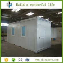 Cost effective good insulated small movable container house