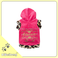 plush cute pink crown dog coat/pet cloth
