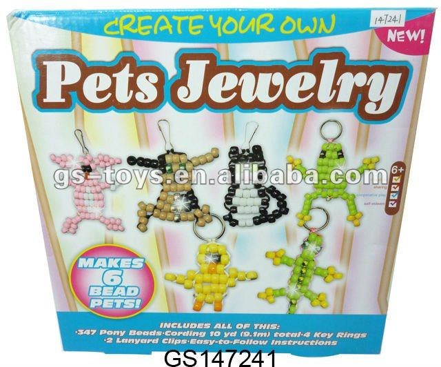 Pets Jewelry Beads Toy