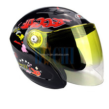 so cute with cool visor motorcycle full helmet
