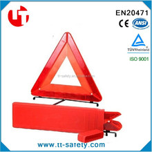 road traffic car reflective triangle reflective warning triangle