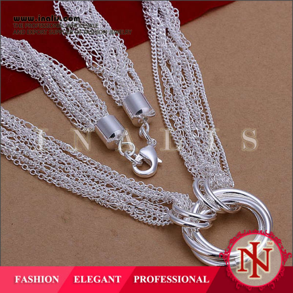 Wholesale hot sale scarf necklace for models N264