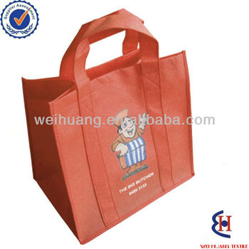 new fashion recycled non woven tote shopping bag