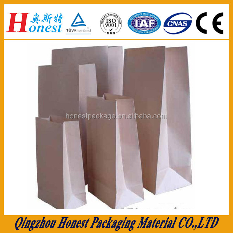 China Supplier Cheep Printing Kraft Paper Bag For Sale