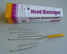 metal material brain relax massager , head massager best item for promotion