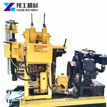 Drilling rig trailer-mounted drilling rig for well water , borehole