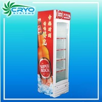 Store sale 200L top 10 small commercial display beverage cooler