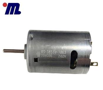 Custom Shaft length Home Appliances 32V 18800RPM DC Motor TK-RS-385SV-18100 Shaft Diameter 2.3mm Mini DC Motor