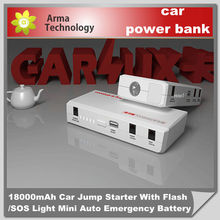 Portable Emergency Car Jump Starter 14000mAh Multi Functional Power Supply Battery Charger
