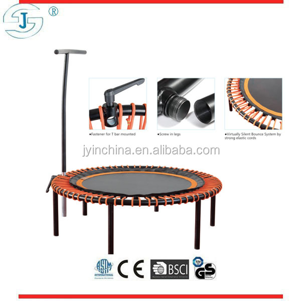 Mini Fitness Trampoline with Strong Elastic Bungee