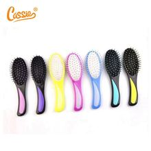 Korea Soft bristle plastic handle hair brush