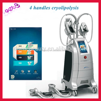 4 size handles beco cryolipolysis cryotherapy fat freezing device to be used medical equipment ETG50-4S