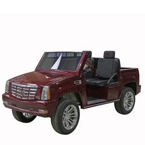 4WD Green Power Electric SUV Car 4 Seats Golf Cart Cadillac Vehicle