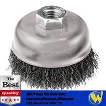 5/8-Inch-11 Arbor Carbon Steel Crimped Wire Cup Brush