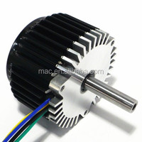 MAC brushless geared DC electric scooter motor