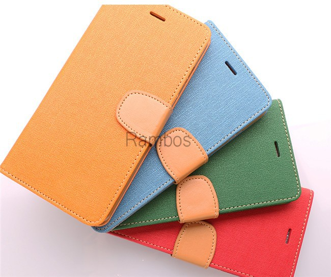 "Meilan Note 2 M2 Back Cover Cases Flip Stand Leather Mobile Phone Case Cover Bag for Meizu M2 Note 2 5.5"" / MX 5 / MX4"