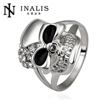 2014 gothic style male skull ring R516