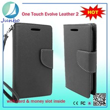 Wholesale Leather Wallet Flip Case Cover for Lenovo A6000