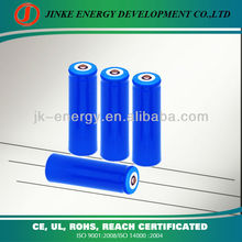 Batteries 3.6v 1400mah 18650 for electrical device