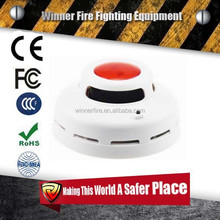 EN14604 certified 10 years lithium battery operated photoelectric smoke detector