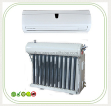 cool and hot vucuum tube type hybrid solar A/C systems air conditioning unit split