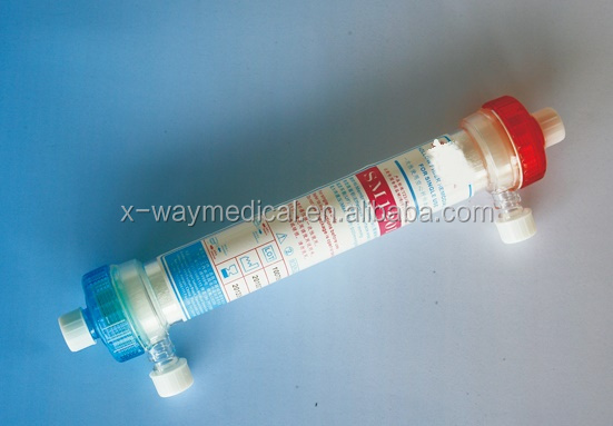 Medical hemodialysis blood Dialyzer, haemodialysis dialyser
