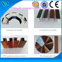 vinyl window extrusion profile u pvc doors windows