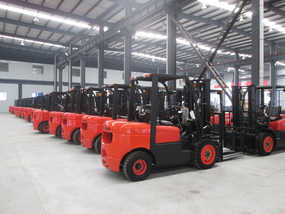Powerful New 1.5 tons to 3.5 tons LPG Forklift for Sale with Side Shift (option)