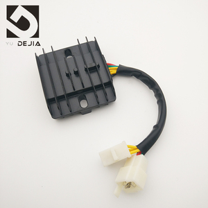 Chinese Manufacturer CBT125 CB125T 6 Wires Motorcycle 12V DC Voltage Regulator Rectifier