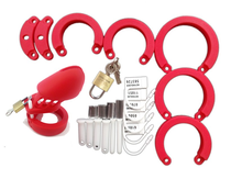 Ring Sleeve Male Chastity Device Cage Belt Cockring Sex Toys For Men