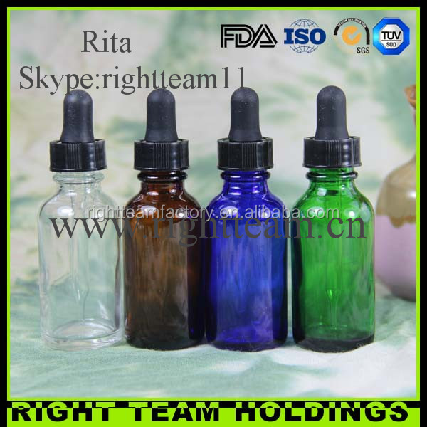 Trade assurance tattoo liquid round bottles empty e liquid e cig glass bottle 1oz e liquid bottle for packaging box