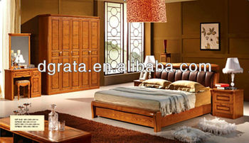 2013 the newest sorrel bedroom furniture suite was made from oak solid wood