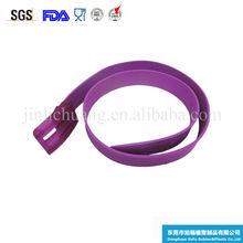 2016 fashion colorful Candy Golf silicone belt/sports silicone belt/silicone rubber Perfume belt
