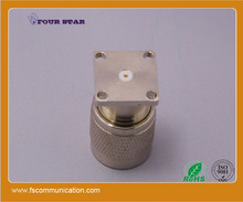 n male 19mm panel mount connector rf coaxial n plug connector