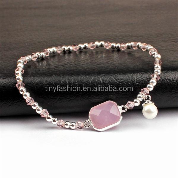 China Gifts Factory Luxury Women Hand Accessories Birthstone Bracelet Interchangeable Jewelry