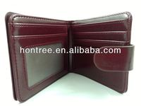 Wholesale fashion leather kangaroo leather wallets for men/women