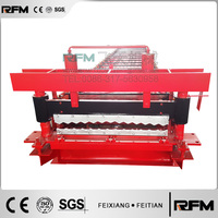 China Manufacture Metal Corrugated Roof Sheet Roll Forming Machine, Steel Sheet Forming Making Machine For Wall And Roof Use