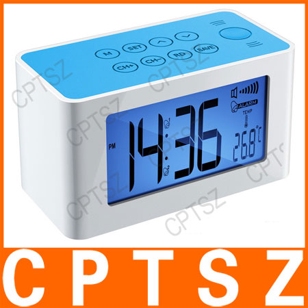 Newest fashional alarm clock speaker/mutual induction speaker for Mobile phone