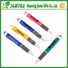 Logo customized promotion advertising roller plastic ball pen, promotional pen