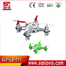 LS-111 2.4G 4axis Hand Throwing Micro RC Drone With Lights Nano drone VS cheerson CX-10