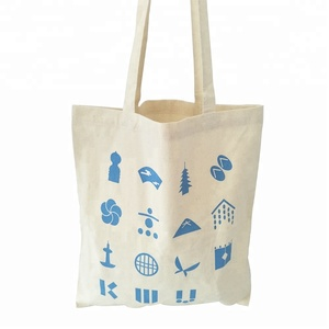 China Wholesale Custom Tote Cotton Bag With Logo