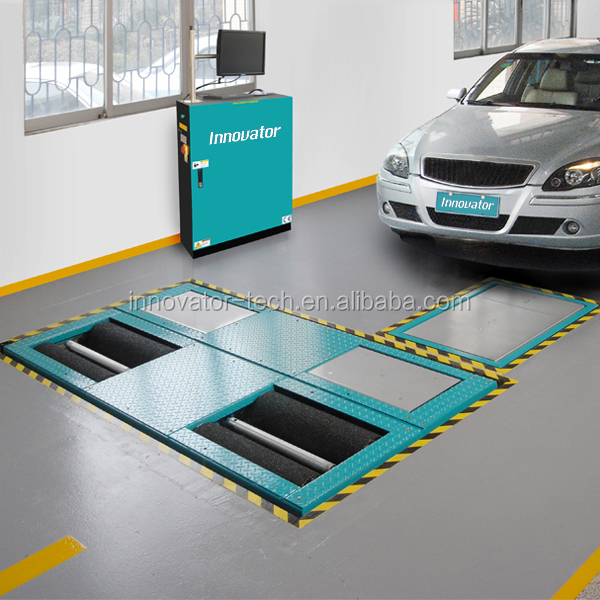 Professional car vehicle test lane with CE IT634