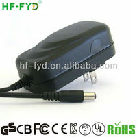 FY1201000 100-240V AC to DC Adapter Converter 12V 1A Power Supply for CCTV System US Plug