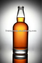 wine glass bottle for vodka , gin , whisky