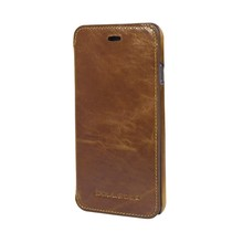 First quality genuine leather case for iPhone 6 with credit card slot