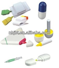 Various fashion style of wax highlighter,highlighter pen,highlight
