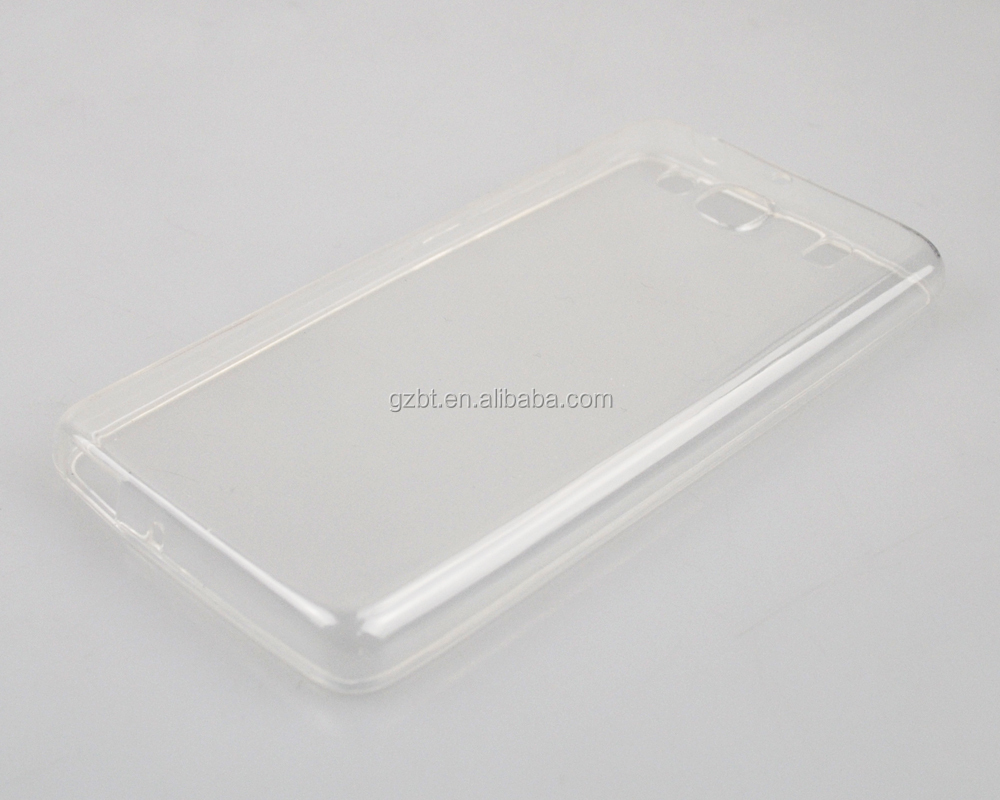 High clear 0.5mm ultra thin tansparent soft tpu mobile pouch for xiaomi hongmi redmi <strong>2</strong>