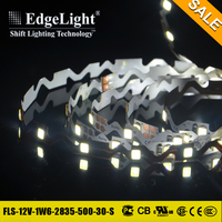 Edgelight Promotional warm white pure white high lumen flexible illume led strip lighting with high quality