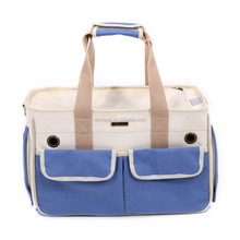 High-quality soft dog carrier canvas small pet carrier bag pet carrier